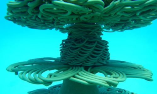3D-printed reef